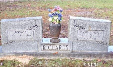 RICHARDS, BONNIE L - Bradley County, Arkansas | BONNIE L RICHARDS - Arkansas Gravestone Photos