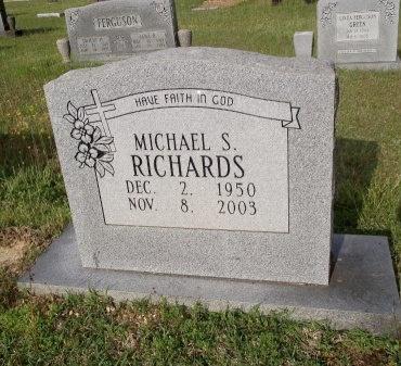 RICHARDS, MICHAEL STEVEN - Bradley County, Arkansas | MICHAEL STEVEN RICHARDS - Arkansas Gravestone Photos