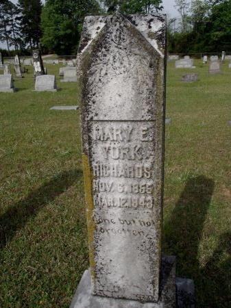 RICHARDS, MARY ELIZABETH - Bradley County, Arkansas | MARY ELIZABETH RICHARDS - Arkansas Gravestone Photos
