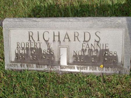 RICHARDS, ROBERT WINFORD - Bradley County, Arkansas | ROBERT WINFORD RICHARDS - Arkansas Gravestone Photos