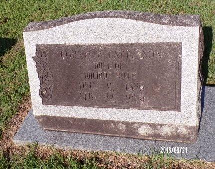 PATTERSON RUTH, CORNELIA - Bradley County, Arkansas | CORNELIA PATTERSON RUTH - Arkansas Gravestone Photos