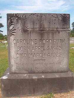 RUTH, CAROLINE - Bradley County, Arkansas | CAROLINE RUTH - Arkansas Gravestone Photos