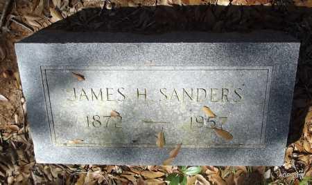 SANDERS, JAMES H - Bradley County, Arkansas | JAMES H SANDERS - Arkansas Gravestone Photos