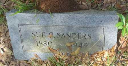 SANDERS, SUE G - Bradley County, Arkansas | SUE G SANDERS - Arkansas Gravestone Photos