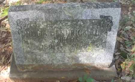 HENDRICKSON SHIELDS, JULIA - Bradley County, Arkansas | JULIA HENDRICKSON SHIELDS - Arkansas Gravestone Photos