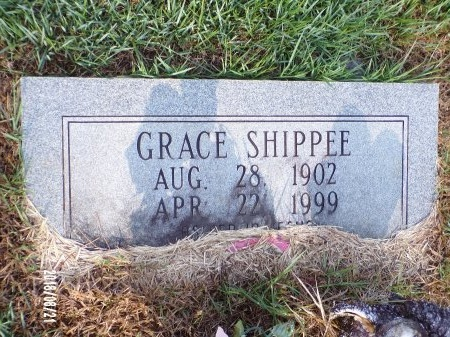 SHIPPEE, GRACE - Bradley County, Arkansas | GRACE SHIPPEE - Arkansas Gravestone Photos