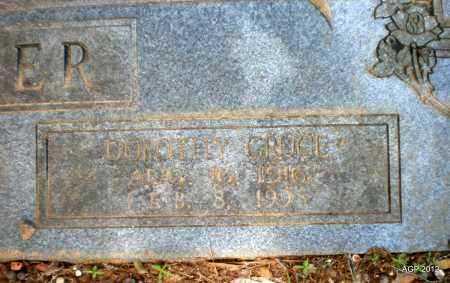 CRUCE SINGER, DOROTHY - Bradley County, Arkansas   DOROTHY CRUCE SINGER - Arkansas Gravestone Photos