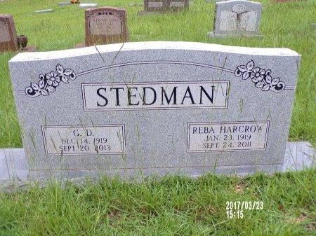 STEDMAN, G D - Bradley County, Arkansas | G D STEDMAN - Arkansas Gravestone Photos
