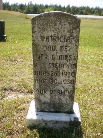 STEDMAN, PATRICIA - Bradley County, Arkansas | PATRICIA STEDMAN - Arkansas Gravestone Photos