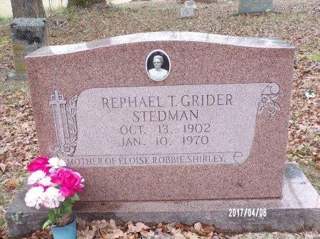 STEDMAN, REPHAEL T - Bradley County, Arkansas | REPHAEL T STEDMAN - Arkansas Gravestone Photos