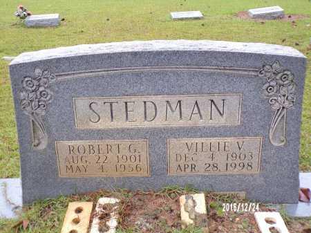 STEDMAN, ROBERT G - Bradley County, Arkansas | ROBERT G STEDMAN - Arkansas Gravestone Photos