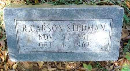 STEDMAN, R CARLSON - Bradley County, Arkansas   R CARLSON STEDMAN - Arkansas Gravestone Photos