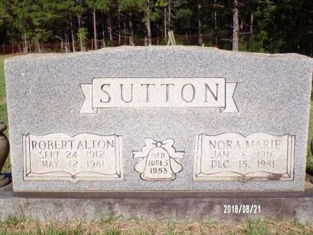 SUTTON, ROBERT ALTON - Bradley County, Arkansas | ROBERT ALTON SUTTON - Arkansas Gravestone Photos