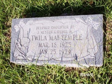TEMPLE, TWILA MAI - Bradley County, Arkansas   TWILA MAI TEMPLE - Arkansas Gravestone Photos