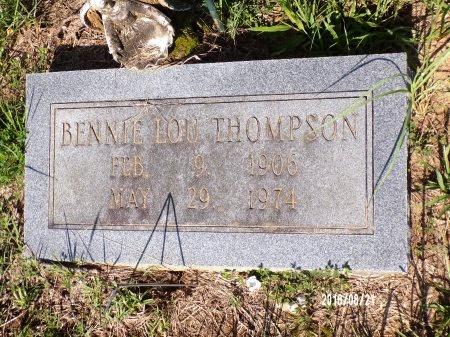 THOMPSON, BENNIE LOU - Bradley County, Arkansas   BENNIE LOU THOMPSON - Arkansas Gravestone Photos