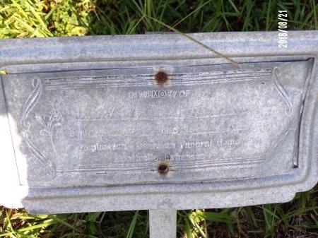 THOMPSON, UNKNOWN - Bradley County, Arkansas | UNKNOWN THOMPSON - Arkansas Gravestone Photos