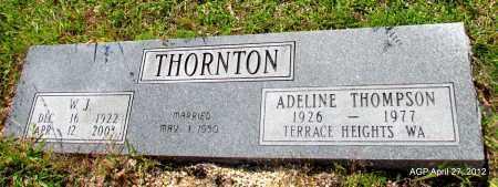 THOMPSON THORNTON, ADELINE - Bradley County, Arkansas | ADELINE THOMPSON THORNTON - Arkansas Gravestone Photos