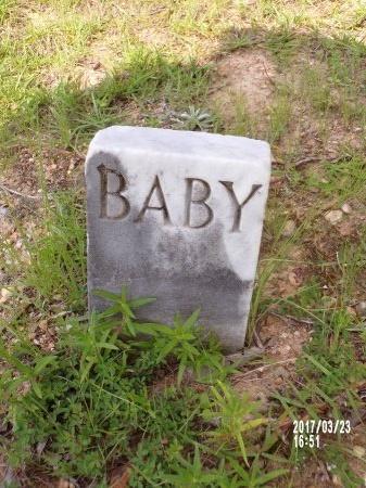 UNKNOWN, BABY - Bradley County, Arkansas | BABY UNKNOWN - Arkansas Gravestone Photos