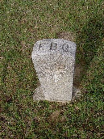 UNKNOWN, E B - Bradley County, Arkansas | E B UNKNOWN - Arkansas Gravestone Photos