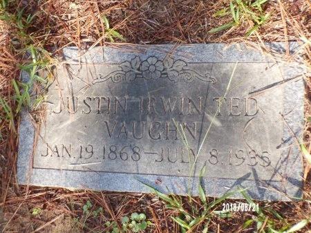 "VAUGHN, JUSTIN IRWIN ""TED"" - Bradley County, Arkansas   JUSTIN IRWIN ""TED"" VAUGHN - Arkansas Gravestone Photos"