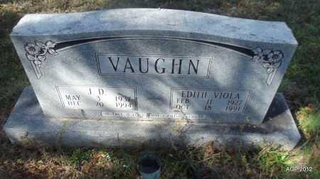 VAUGHN, J D - Bradley County, Arkansas   J D VAUGHN - Arkansas Gravestone Photos