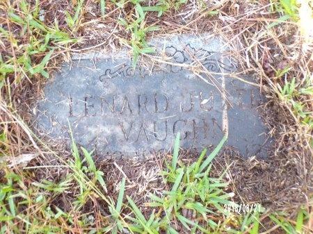 VAUGHN, LENARD JUSTIN - Bradley County, Arkansas | LENARD JUSTIN VAUGHN - Arkansas Gravestone Photos