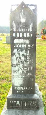 WAITES, JOHN W - Bradley County, Arkansas | JOHN W WAITES - Arkansas Gravestone Photos