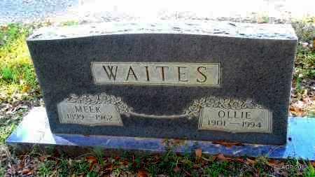 WAITES, OLLIE - Bradley County, Arkansas | OLLIE WAITES - Arkansas Gravestone Photos