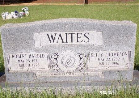 WAITES, BETTY - Bradley County, Arkansas | BETTY WAITES - Arkansas Gravestone Photos