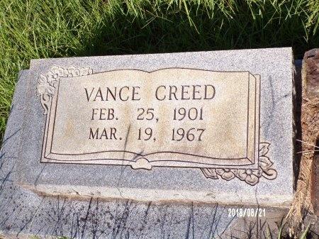 WAITES, VANCE CREED - Bradley County, Arkansas   VANCE CREED WAITES - Arkansas Gravestone Photos