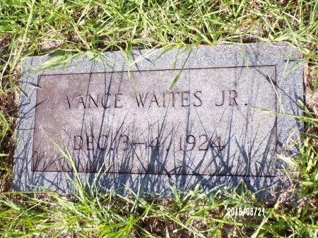 WAITES, JR, VANCE CREED - Bradley County, Arkansas | VANCE CREED WAITES, JR - Arkansas Gravestone Photos