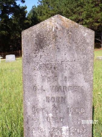 WARREN, ORRA - Bradley County, Arkansas | ORRA WARREN - Arkansas Gravestone Photos