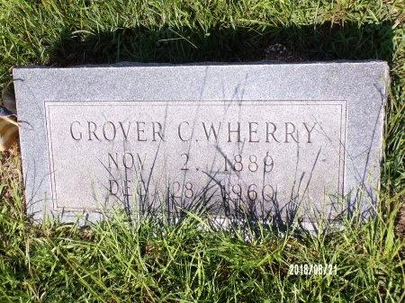 WHERRY, GROVER CLEVELAND - Bradley County, Arkansas | GROVER CLEVELAND WHERRY - Arkansas Gravestone Photos