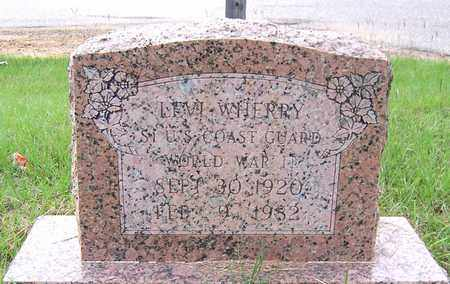 WHERRY, LEVI - Bradley County, Arkansas   LEVI WHERRY - Arkansas Gravestone Photos