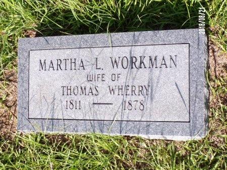 WHERRY, MARTHA L - Bradley County, Arkansas | MARTHA L WHERRY - Arkansas Gravestone Photos