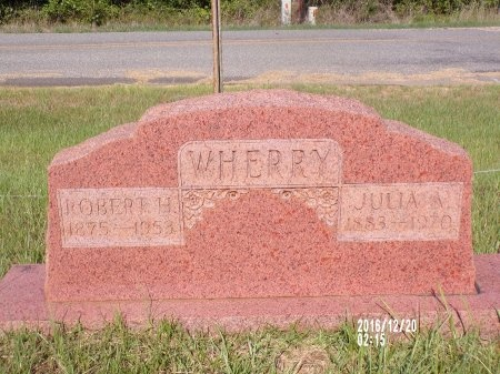 WHERRY, JULIA - Bradley County, Arkansas | JULIA WHERRY - Arkansas Gravestone Photos