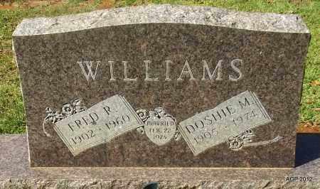 WILLIAMS, DOSHIE M - Bradley County, Arkansas | DOSHIE M WILLIAMS - Arkansas Gravestone Photos