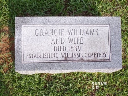 WILLIAMS, GRANCIE - Bradley County, Arkansas | GRANCIE WILLIAMS - Arkansas Gravestone Photos
