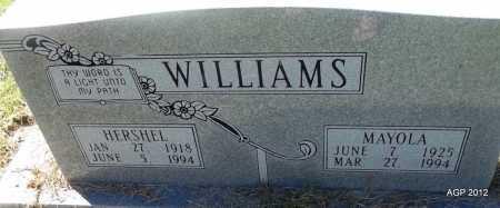 WILLIAMS, MAYOLA - Bradley County, Arkansas | MAYOLA WILLIAMS - Arkansas Gravestone Photos
