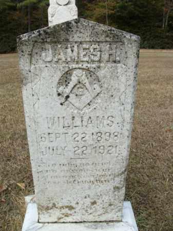 WILLIAMS, JAMES H - Bradley County, Arkansas   JAMES H WILLIAMS - Arkansas Gravestone Photos