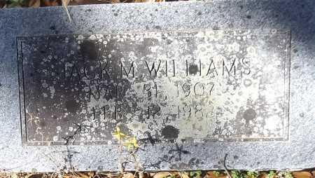 WILLIAMS, JACK M - Bradley County, Arkansas | JACK M WILLIAMS - Arkansas Gravestone Photos