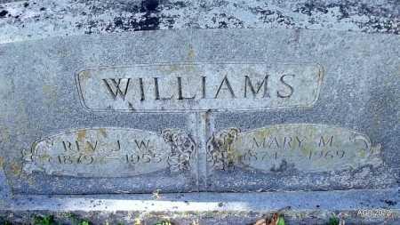 WILLIAMS, MARY M - Bradley County, Arkansas   MARY M WILLIAMS - Arkansas Gravestone Photos