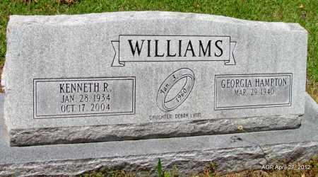 WILLIAMS, KENNETH R - Bradley County, Arkansas | KENNETH R WILLIAMS - Arkansas Gravestone Photos