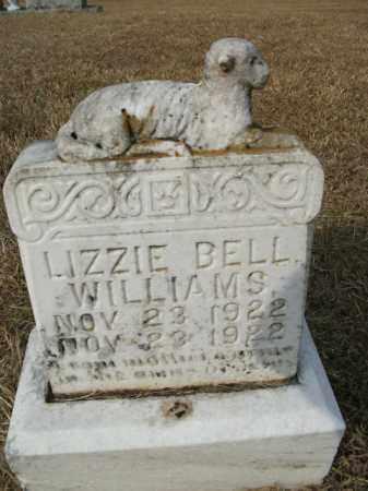 WILLIAMS, LIZZIE BELL - Bradley County, Arkansas | LIZZIE BELL WILLIAMS - Arkansas Gravestone Photos