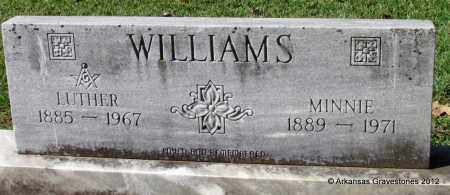 WILLIAMS, LUTHER - Bradley County, Arkansas | LUTHER WILLIAMS - Arkansas Gravestone Photos