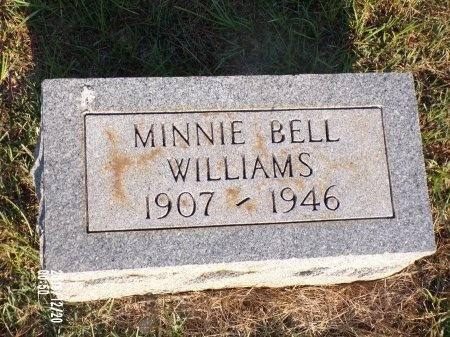 WILLIAMS, MINNIE BELL - Bradley County, Arkansas   MINNIE BELL WILLIAMS - Arkansas Gravestone Photos