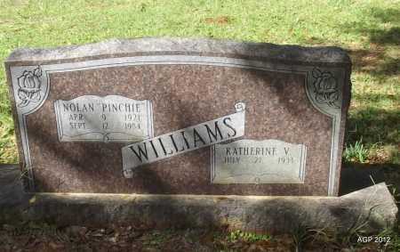 "WILLIAMS, NOLAN ""PINCHIE"" - Bradley County, Arkansas   NOLAN ""PINCHIE"" WILLIAMS - Arkansas Gravestone Photos"