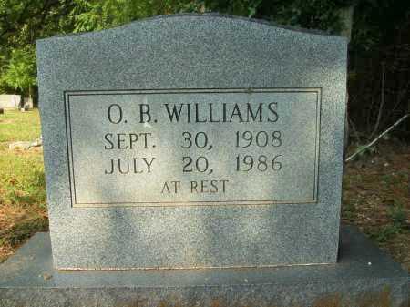 WILLIAMS, O B - Bradley County, Arkansas   O B WILLIAMS - Arkansas Gravestone Photos