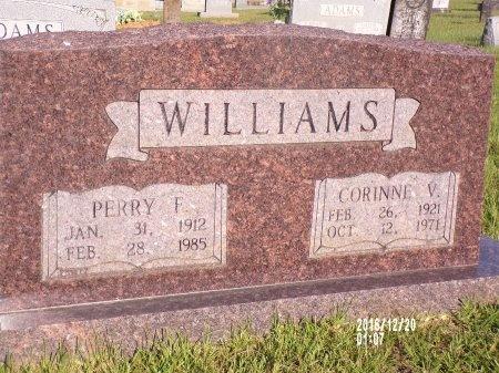 WILLIAMS, PERRY F - Bradley County, Arkansas   PERRY F WILLIAMS - Arkansas Gravestone Photos