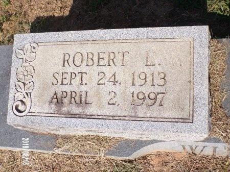 WILLIAMS, ROBERT L (CLOSE UP) - Bradley County, Arkansas   ROBERT L (CLOSE UP) WILLIAMS - Arkansas Gravestone Photos